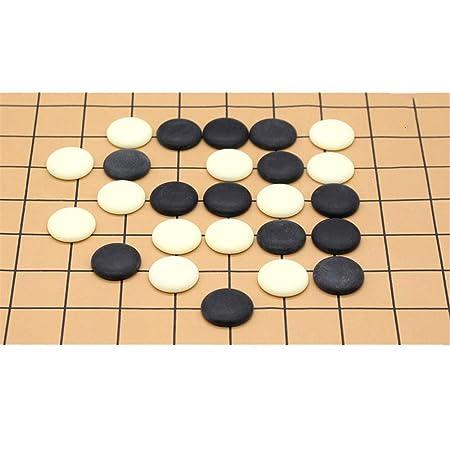 Go Board Game Juego de Mesa de Estrategia Chino Go Set con Bamboo ...