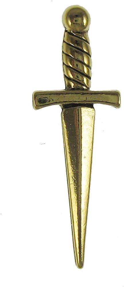 Jim Clift Design Heart Gold Lapel Pin