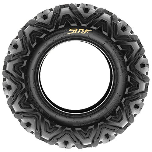 Sun.F A033 ATV Tires 25x10-12 Rear set of 2 ,6 Ply by SunF (Image #2)
