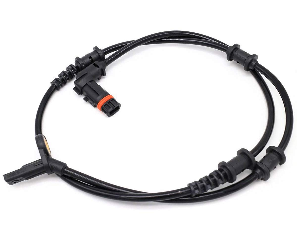 KARPAL Front Left and Right ABS Wheel Speed Sensor 1645400917 Compatible With Mercedes W164 GL550 R350 ML350 ML450 ML63 AMG ML320
