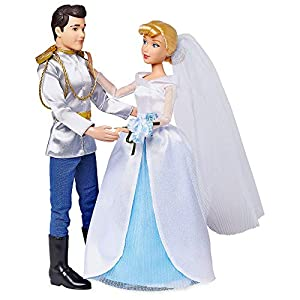 Disney Cinderella and Prince Charming Classic Wedding Doll Set