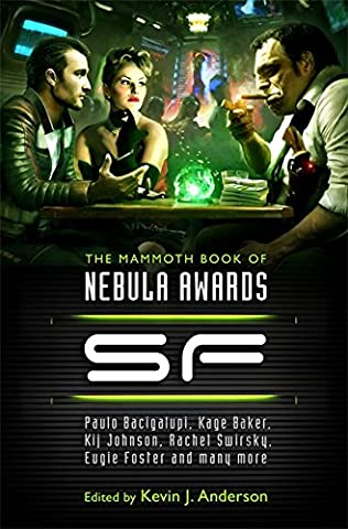 book cover of The Mammoth Book of Nebula Awards SF