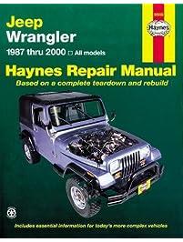 Amazon repair maintenance books engines transmissions jeep wrangler 1987 2011 repair manual haynes repair manual paperback fandeluxe Choice Image