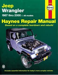 Jeep owners bible a hands on guide to getting the most from your jeep wrangler 1987 2011 repair manual haynes repair manual paperback fandeluxe Choice Image