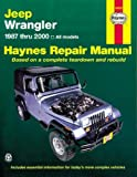 jeep wrangler service manual - Jeep Wrangler 1987 - 2011 Repair Manual (Haynes Repair Manual (Paperback))