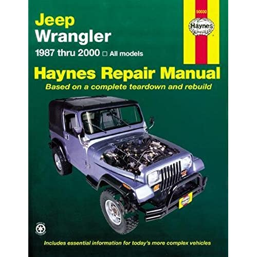 jeep wrangler 1987 2011 repair manual haynes repair manual rh amazon com 2011 Jeep Patriot Engine 2011 Jeep Patriot Alternator