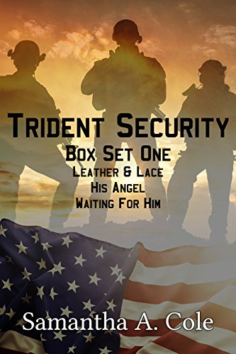 Trident Security Series - Box Set One: Leather & Lace; His Angel; Waiting For (Romantic Boxed Leather)