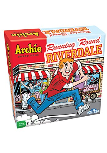 The Archie Comics Board Game - Running 'Round Riverdale - Outwit Your Opponents and Be the First to Reach Pop Tate's Choclit Shoppe - Ages 7+ from Outset