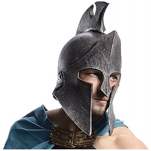 Themistocles Adult Costumes (Greek Helmet Themistocles Costume 300 Spartan Warrior Halloween Fancy Dress)
