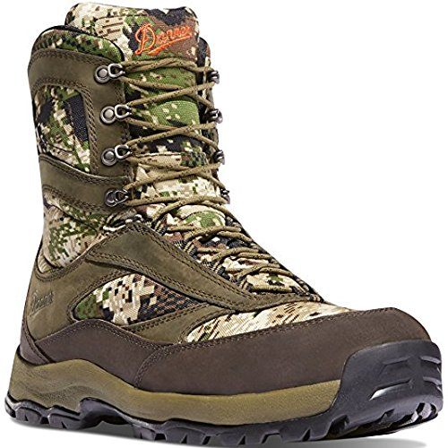 Danner High Ground 8'' Optifade Subalpine Camo Hunting Boots | Gore-TEX (GTX) Waterproof Hiking Leather Boots | Modern Battlefield Combat Boot (12 D)