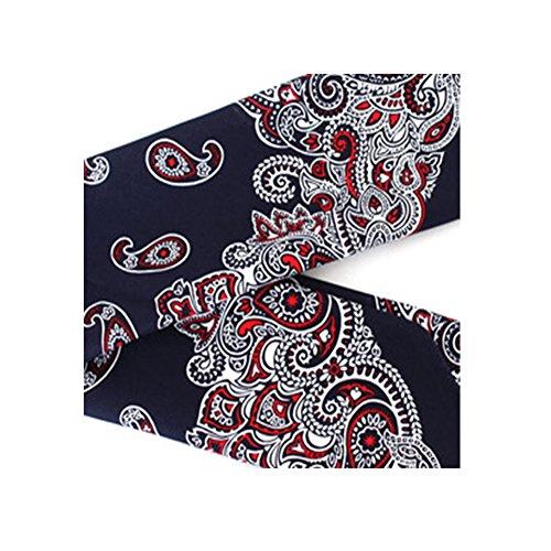 korean-tvn-youns-kitchen-jung-yu-mi-handkerchief-bandana-scarf-headband-navyred