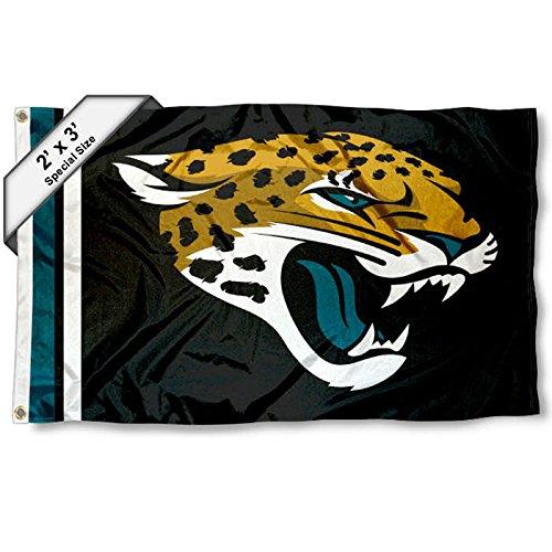 Jacksonville Jaguars 2x3 Feet Flag (Jaguar Flag)