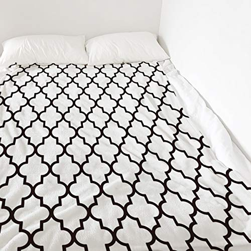 Amazon Com Colorsum Moroccos Decor Soft Plush Throw Blanket 40x50 Inch