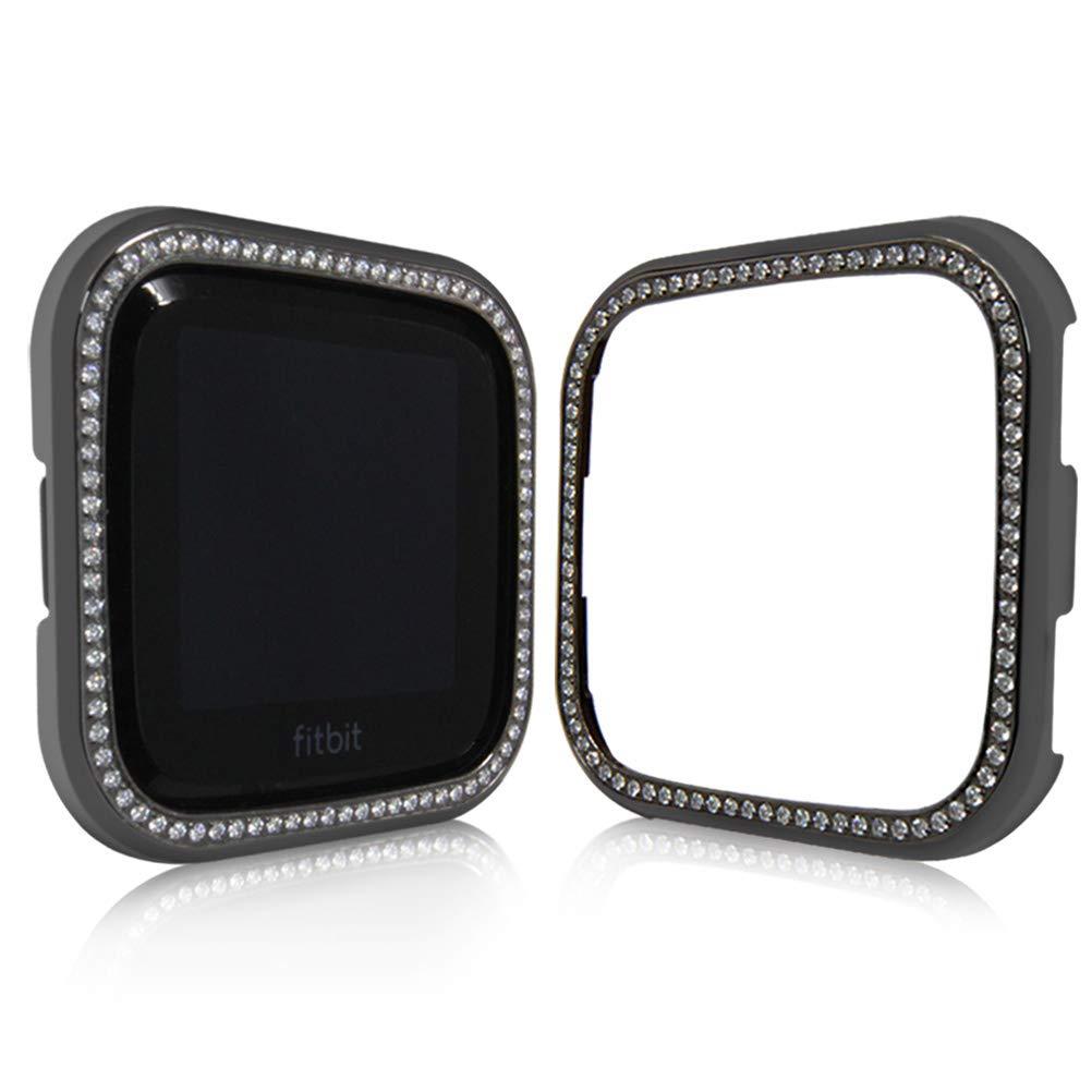 Amazon.com: UKCOCO - Carcasa para Fitbit Versa, marco ...