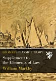 img - for Supplement to the Elements of Law book / textbook / text book