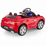 SPORTrax-BoxCar-Kids-Ride-On-Car-Battery-Powered-Remote-Control-wFREE-MP3-Player-Red