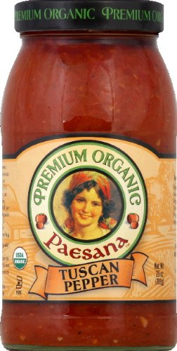 Cheap  Paesana Sauce Tuscan Pppr Org 25 Oz - Pack of 6 -..