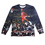 Sweatshirts 3d Basketball All-star Game Pullover Hoodies for Men/women's M
