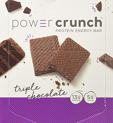 Bio-Nutritional Power Crunch, Triple Chocolate 12 Cookies (Price Napkins Walmart)