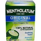Mentholatum Ointment Topical Analgesic Rub 3 oz. (3-Pack)