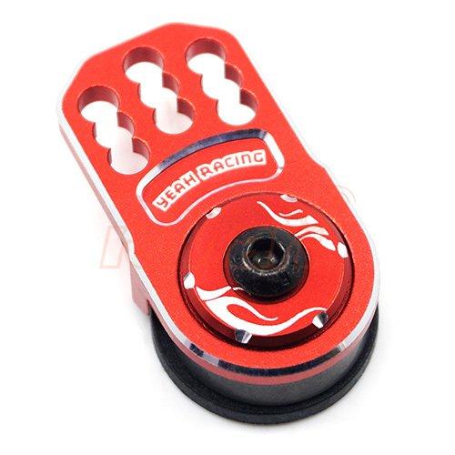 Yeah Racing Aluminum Plate Servo Saver Red #YA-0557RD