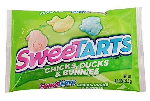 Wonka, SweeTarts Chicks Ducks and Bunnies, 4.5 oz Bag