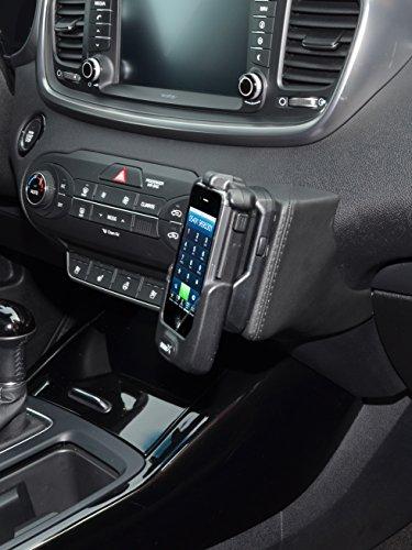 Kuda 2675 Leather Mount Black Compatible with Kia Sorento (Since 2015)