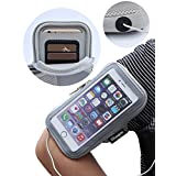 iPhone 6s Armband, Samsung Galaxy S5 Armband, iMangoo Sports Exercise Armband Outdoor Sports Armband Running Sleeve Workouts Pouch Cycling Fitness Gym Armbands for iPhone 6/6s, Galaxy S6,S5,S4 Grey