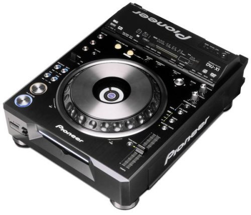 (Pioneer DVJ-1000 Professional DJ DVD and CD Table Top Player with MP3 and Video Support)