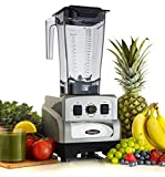 Omega Juicers OM6560 3 Peak HP Blender, Silver