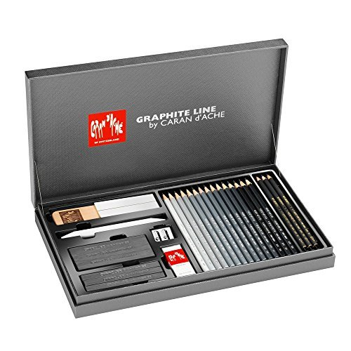 Caran D'ache Graphite Line Gift Box Set (3000.415) by Caran d'Ache