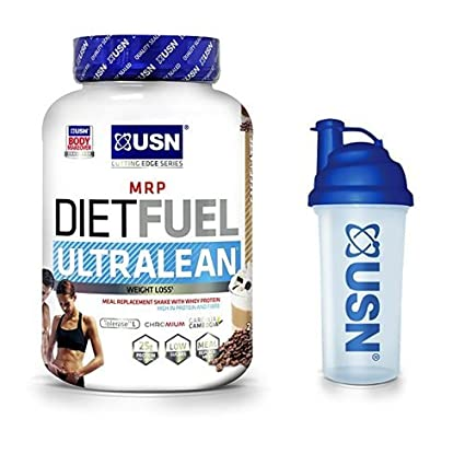USN Diet Fuel Ultralean Weight Control Meal Replacement Shake Powder,  Chocolate Cream, 2 kg: Amazon.co.uk: Health & Personal Care