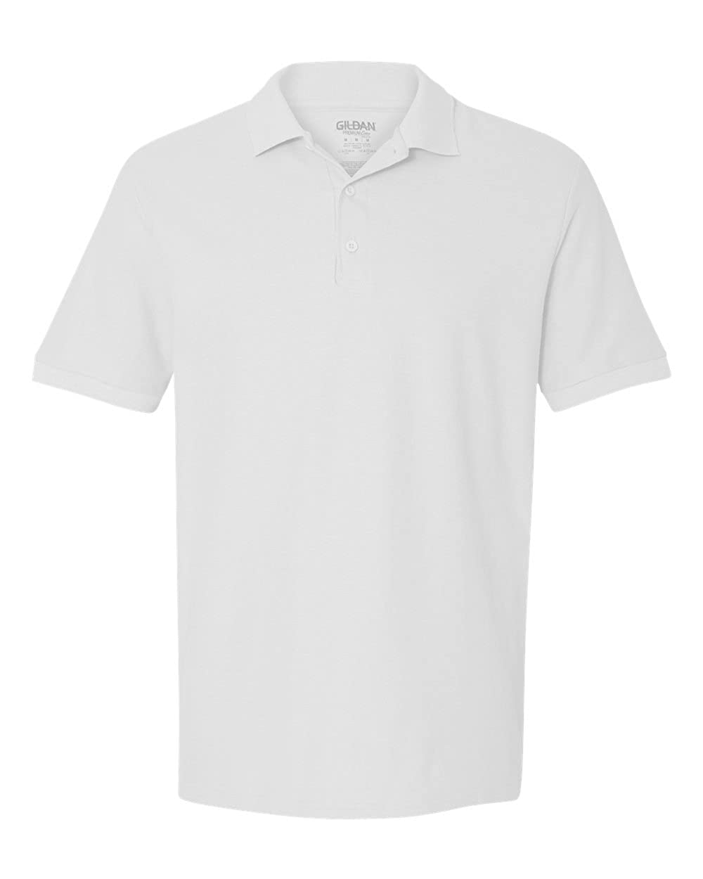 Gildan Mens Double-Needle Side Seamed Pique Polo Shirt