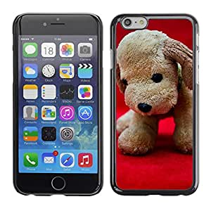 "GoGoMobile Etui Housse Coque de Protection Cover Rigide pour // M00119261 Peluche Perro de perrito de juguete // Apple iPhone 6 PLUS 5.5"""