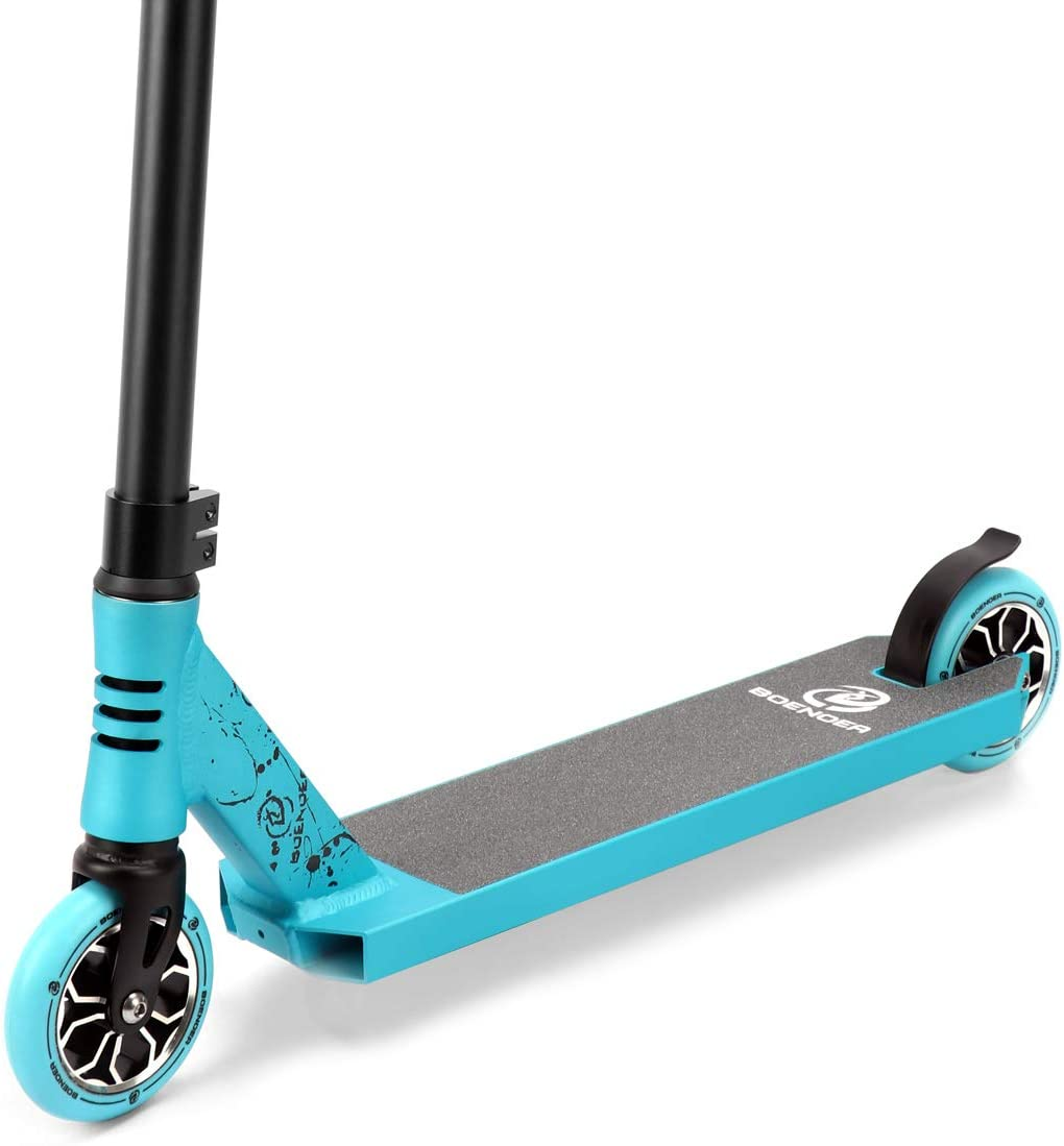 Boenoea Pro Scooters Freestyle Stunt Scooter for Kids 6Years and Up