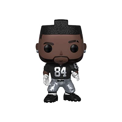 Funko POP! NFL: Raiders - Antonio Brown (Home Jersey): Toys & Games