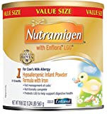 Nutramigen with Enflora LGG Baby Formula - 19.8 oz Powder Can (Pack of 4) by Nutramigen
