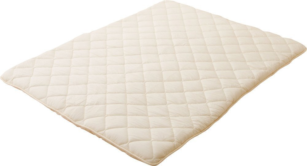 EMOOR Japanese Traditional Futon Mattress ''Classe'', Queen Size. Made in Japan