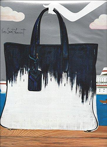 IllustratedPRINT AD For Yves Saint Laurent Handbags Nordstrom Designer - Laurent Designer Saint