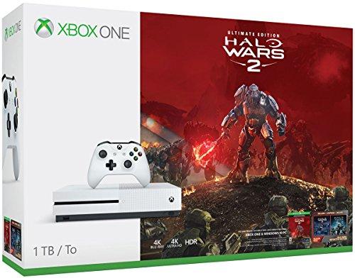 Xbox One S 1TB Console – Halo Wars 2 Bundle