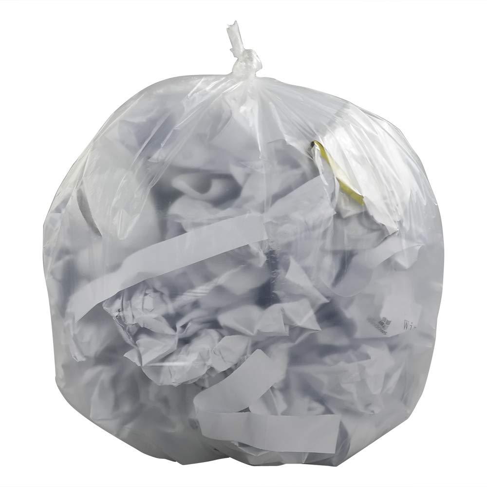 Ucake Trasparente 20 Litri Sacchetti per Pattumiere Spazzatura Immondizia 110 Conta//Roll