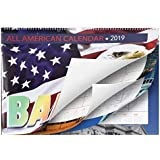 Bailey Desk Calendar 2019, Large Wall Calendar for Daily Planning, Big Writing Space, Perfect for Home and Office