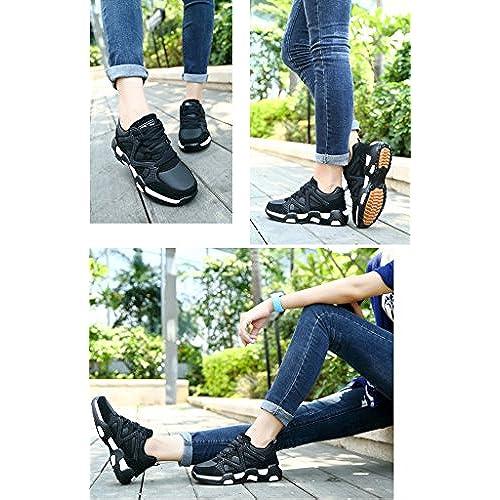 JiYe Sports Women's Men's Jogging Walking Riding Running Lovers Shoes,Fashion Sneskers cheap