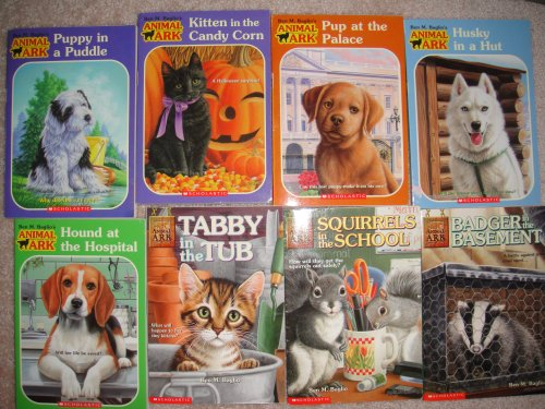 Animal Ark 8 Books Set: Badger in the Basement/Squirrels in the School/Tabby in the Tub/Hound at the Hospital/Husky inn a Hut/Pup at the Palace/Kitten in the Candy Corn/Puppy in a Puddle (Animal Ark)