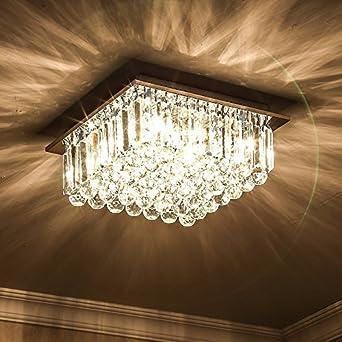HBA Moderne K9 Crystal Decke Decke Licht, Beleuchtung ...