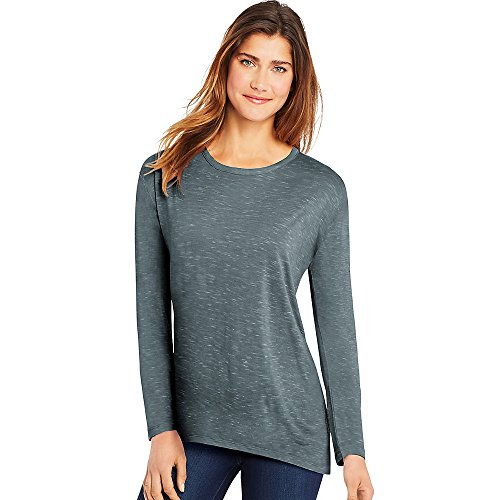 Hanes Women's Lone Sleeve Crewneck Shirt