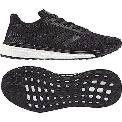 adidas Response W, Chaussures de Running Femme Noir (Ftwr White/core Black/core Black)
