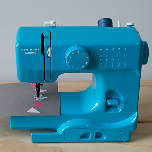 janome turbo teal portable sewing machine