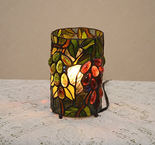 grape tiffany lamp - 6