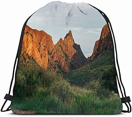 Drawstring Backpack String Bag 14X16 Landscape West ...